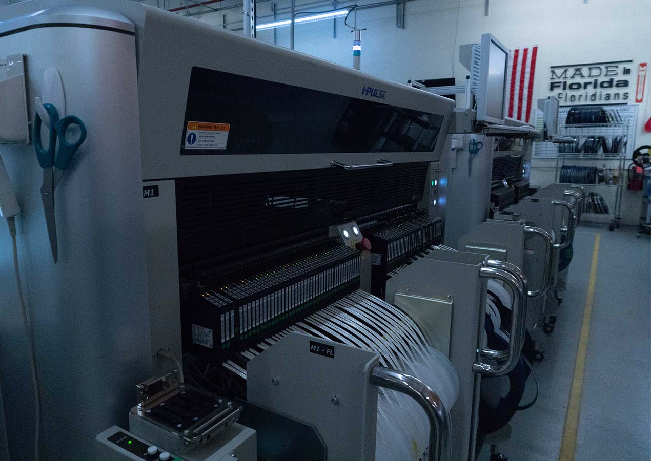 Smt manufacturing acr artex